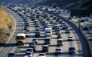 Imagem de trânsito para ilustrar post sobre frota de veículos em São Paulo