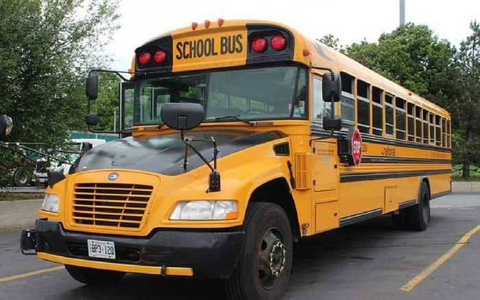 Imagem de ônibus escolar para ilustrar post sobre escolher transporte escolar