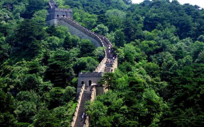 Imagem da Muralha da China para ilustrar post sobre o que fazer na China