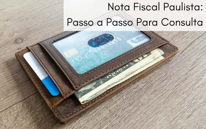 Imagem de uma carteira para exemplificar postagem sobre Nota Fiscal Paulista Consulta