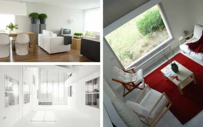 Imagem de decoração para casa com paredes na cor clara