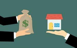 Imagem que ilustra a venda de um imóvel para post sobre como declarar venda de imóvel