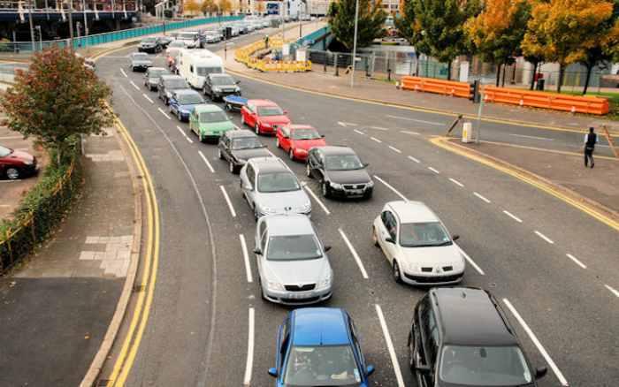 Imagem de trânsito para ilustrar post sobre educação no trânsito