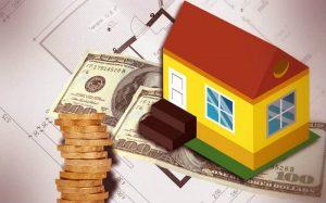 Imagem de compra de casa ilustrando texto sobre financiamento ou empréstimo.
