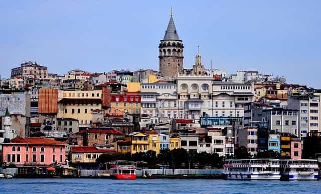 Torre de galata na Turquia