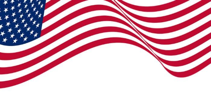 Imagem da bandeira dos Estados Unidos para ilustrar texto sobre tipos de visto americano