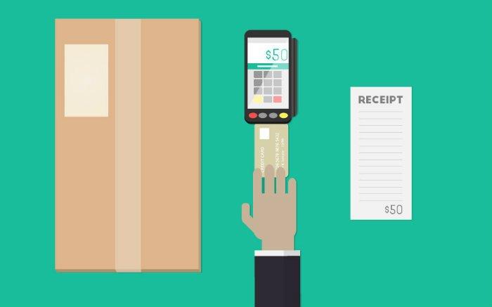 Ilustração de maquininha de cartão para texto sobre a melhor maquininha de cartão