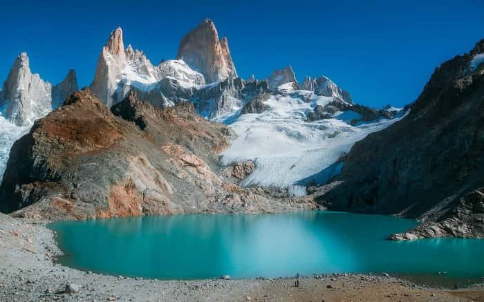 Foto da patagônia para texto sobre viagem de lua de mel