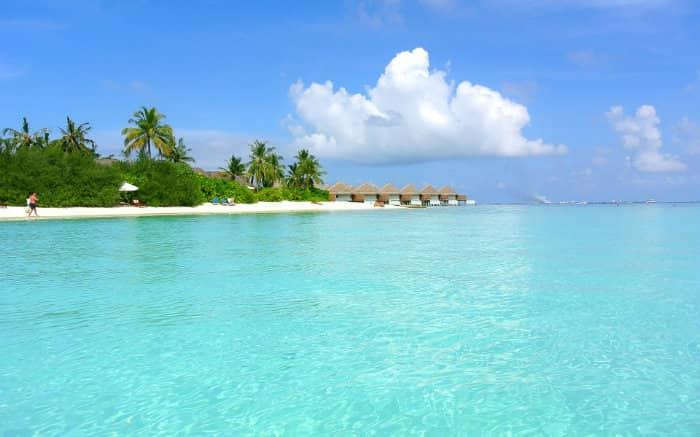 Foto das Ilhas Maldivas para texto sobre viagem de lua de mel