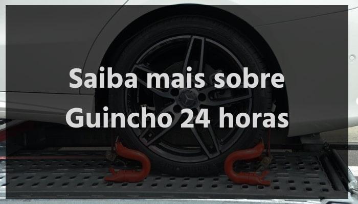 Saiba mais sobre Guincho 24 horas com a Bidu Corretora. Imagem que remete a um carro sobre um Reboque 24 horas.