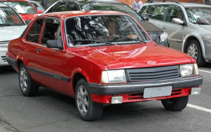 Foto de Chevette para texto sobre carros clássicos brasileiros