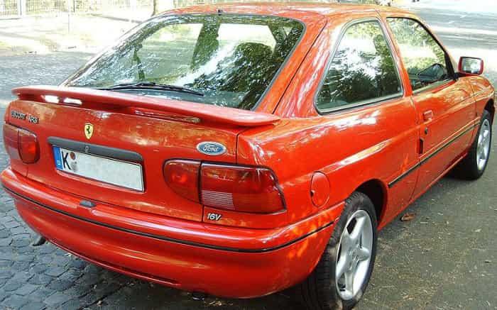 Foto de Escort XR3 para texto sobre carros clássicos brasileiros