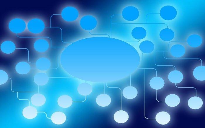 Desenho ilustrativo de conexões para ilustrar texto sobre como ser prestador de serviços para segguradora