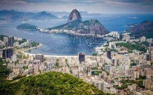 Foto panorâmica do Rio de Janeiro para ilustrar texto sobre os melhores hospitais do RJ