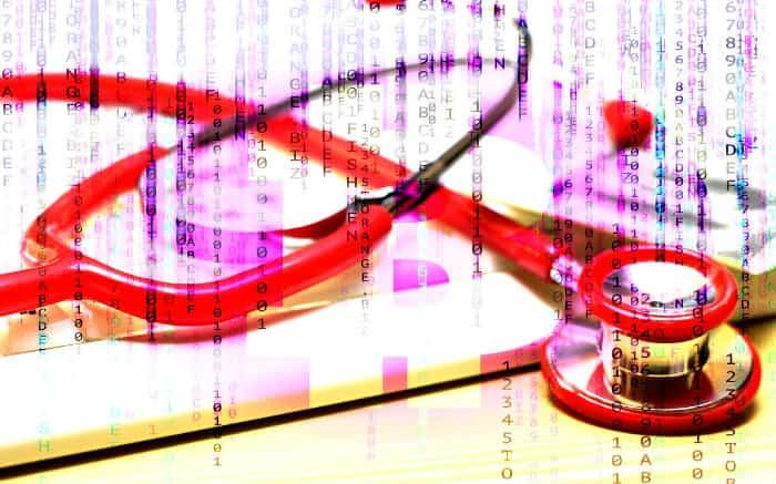 Ilustração de estetoscópio para texto sobre validade do plano empresarial