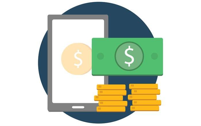 Desenho de dinheiro para ilustrar texto sobre seguro garantia de retenção de pagamentos