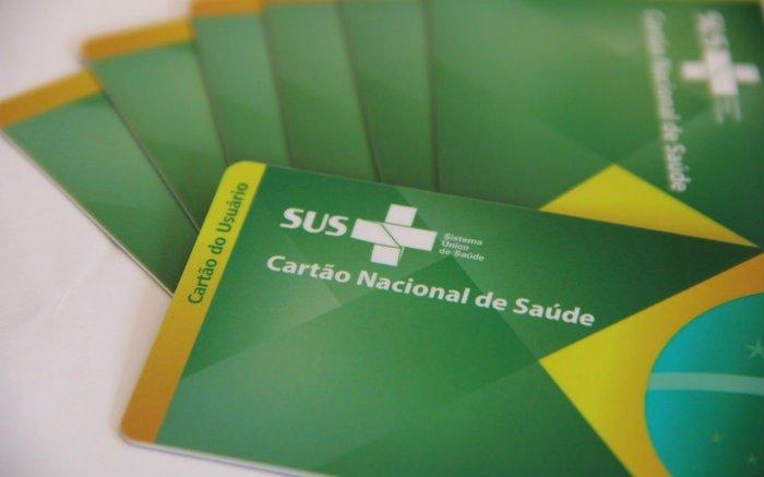 Imagem do cartão nacional de saúde