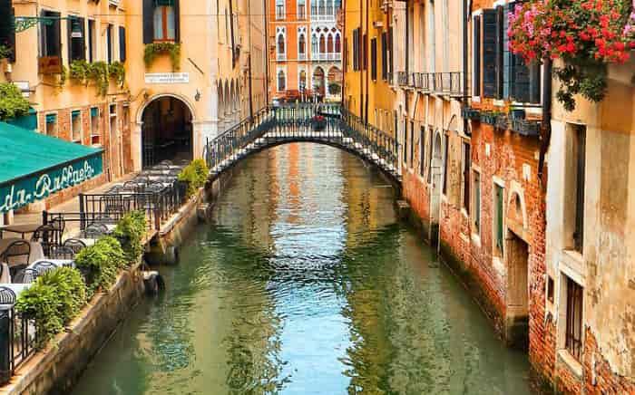 Foto de Veneza para ilustrar texto sobre viagem para Itália