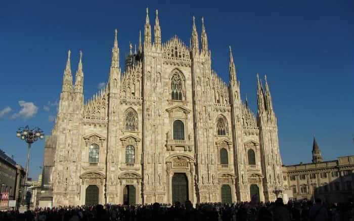 Foto de Milão para texto sobre viagem para Itália
