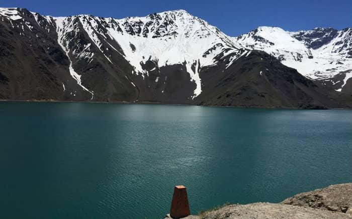 Imagem da cordilheira dos Andes para texto sobre o que fazer no Chile