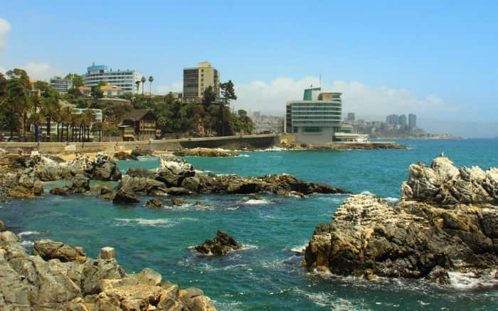 Foto de Vina del Mar para texto sobre o que fazer no Chile