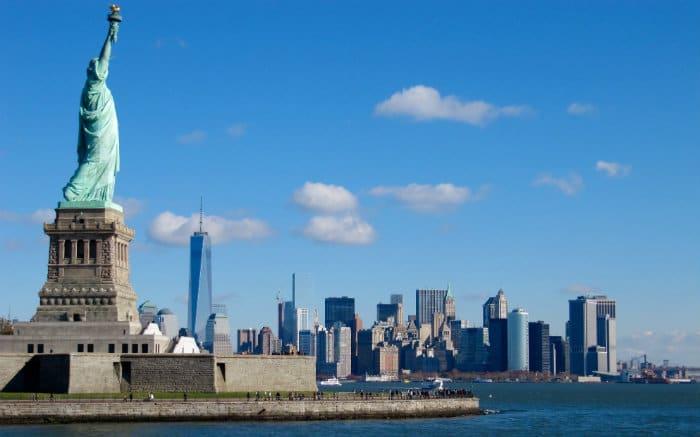 Imagem de NY para ilustrar texto sobre lugares para viajar a dois.