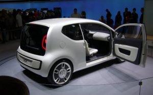 Imagem no Volkswagen Up! para texto sobre subcompactos