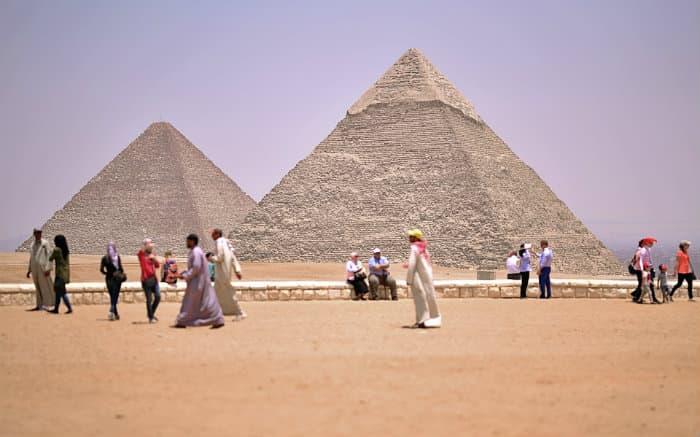 Foto de Cairo para texto sobre destinos internacionais baratos.