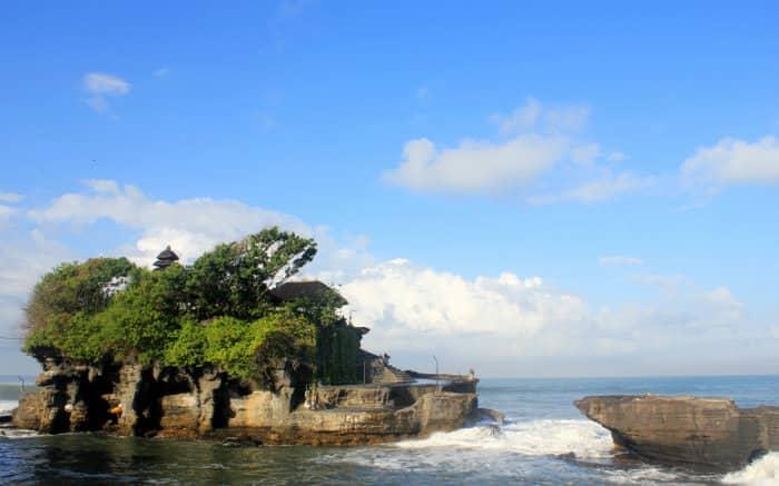 Foto de Bali para texto sobre destinos internacionais baratos.