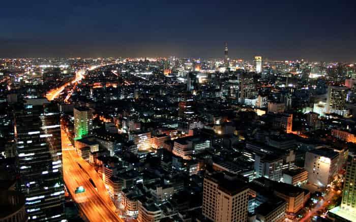 Foto de Bangcoc para texto sobre destinos internacionais baratos