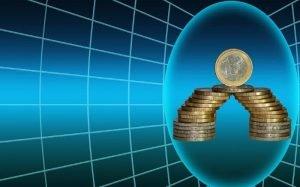 Imagem ilustrativa de dinheiro e gráfico para texto sobre por que minha empresa não consegue empréstimo