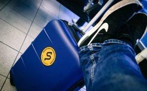 Imagem mala de mão para ilustrar texto sobre tamanho da bagagem de mão