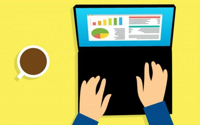 Desenho de computador com gráficos para ilustrar texto sobre pano de saúde para o mercado financeiro