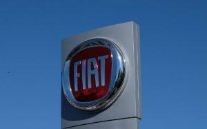 Logo Fiat para texto sobre lançamentos da Fiat