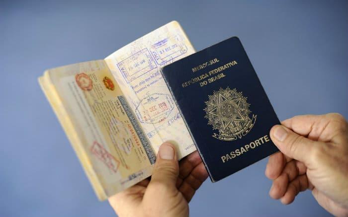 imagem de passaporte para texto sobre validade do passaporte