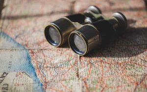 Imagem de mapa para ilustrar texto se==que fala se seguro viagem barato vale a pena