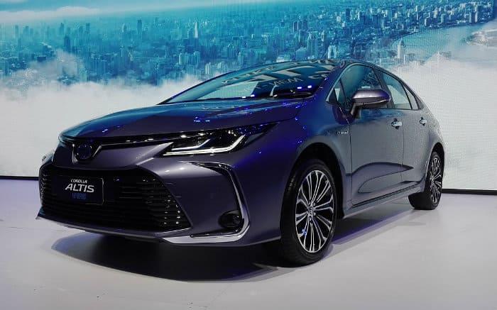 Imagem do novo Corolla 2020 para texto sobre Lançamento Toyota