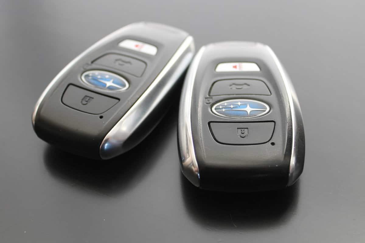 Tipos de chaves de carro