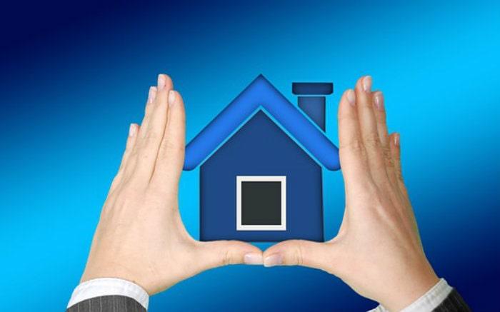 Desenho de casa para texto sobre como cancelar seguro residencial