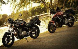 Imagem de motos para texto sobre tipos de seguro de moto