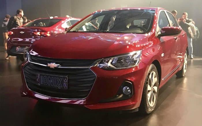Foto de Onix para texto sobre os melhores carros Chevrolet