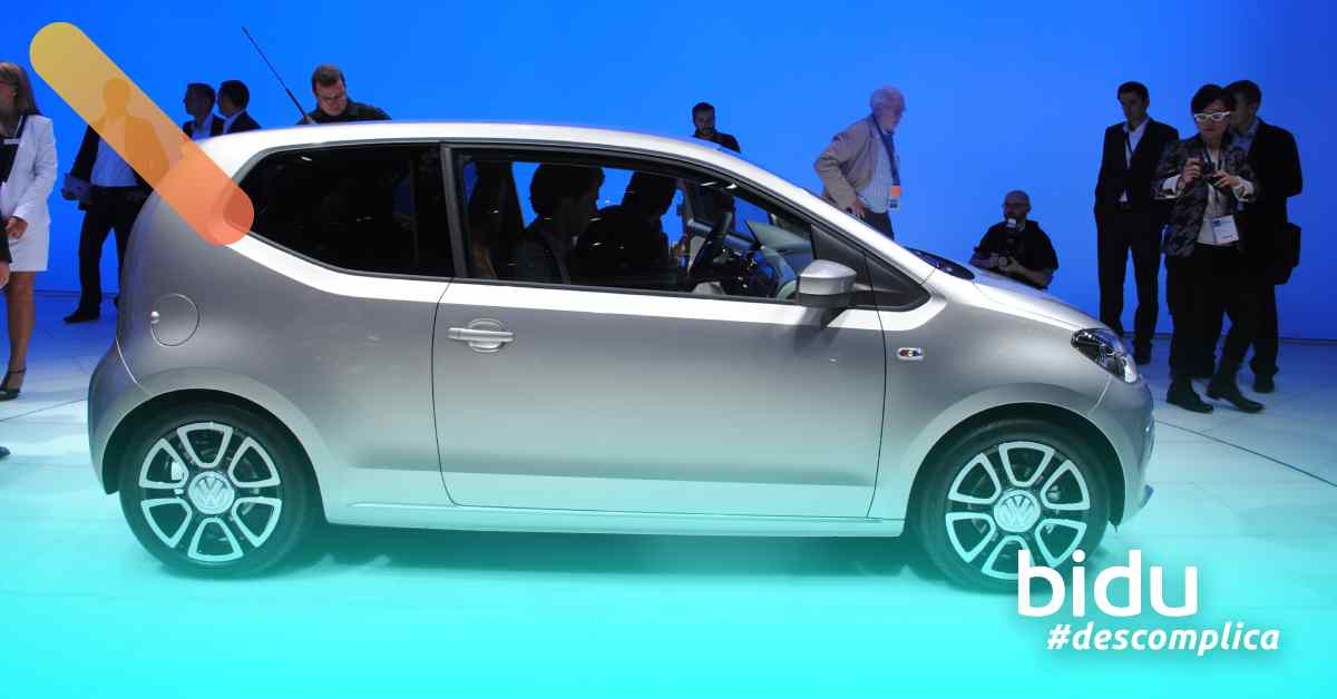 imagem de um carro Up para texto sobre os carros mais econômicos de 2019