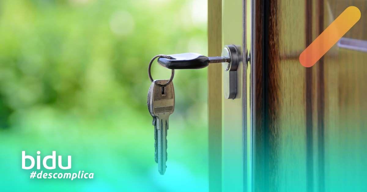 imagem de chave para texto sobre privacidade em casa