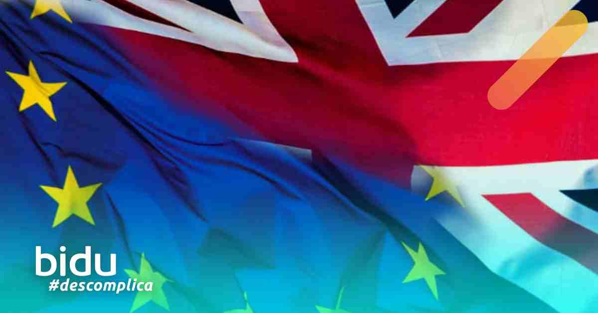 Imagem de bandeira para texto sobre o que muda para os turistas com o Brexit