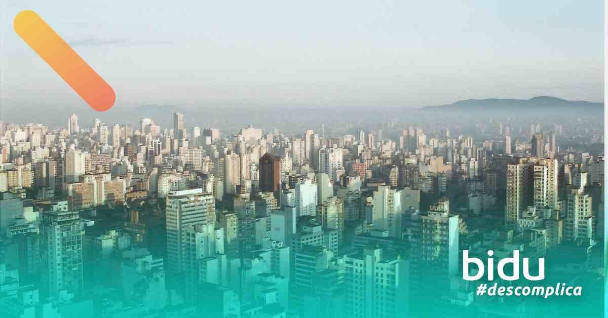 foto da cidade de sp para texto sobre IPTU São Paulo