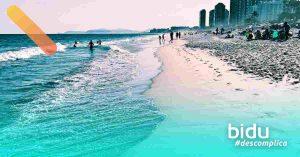 imagem de praia para texto sobre as melhores praias do rio de janeiro