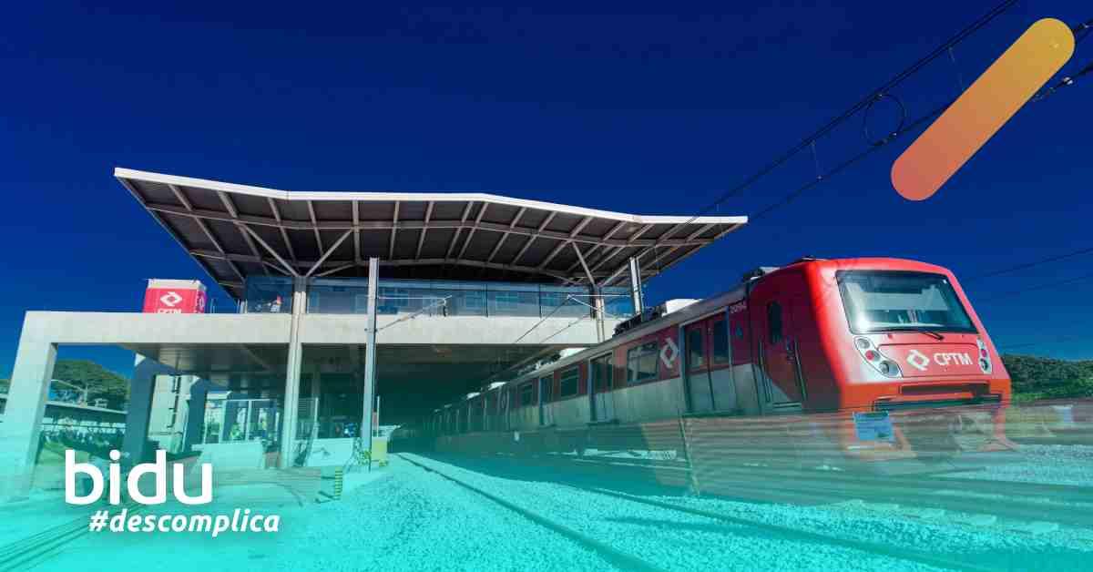 Imagem do trem para o aeroporto de Guarulhos