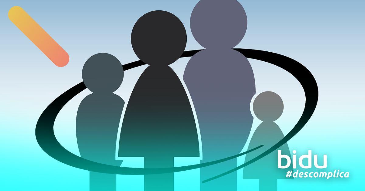ilustração de familia para texto sobre como escolher o melhor seguro de vida