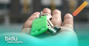 imagem de chave para texto sobre como cancelar seguro fiança