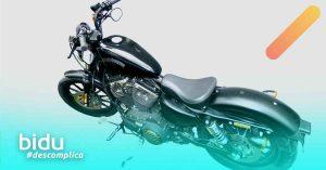 imagem de moto para texto sobre vantagens do seguro moto